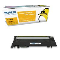Samsung CLP-365 ready Remanufactured Samsung Y406S Yellow Toner Cartridge (CLT-Y406S/ELS) Image