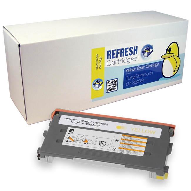 Tally T8008 series (043338) Yellow Toner Cartridges