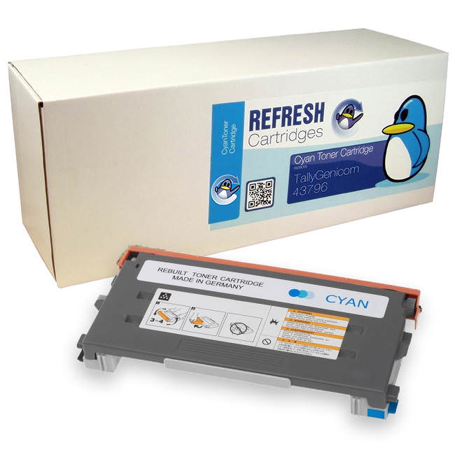 Tally T8108 Cyan Remanufactured Toner Cartridges 43796
