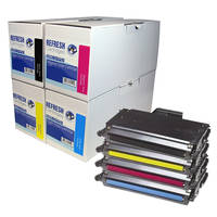 Tally T8108 ready Everyday Valuepack of Remanufactured TallyGenicom T8108 Toner Cartridges (43799/6/7/8) Image