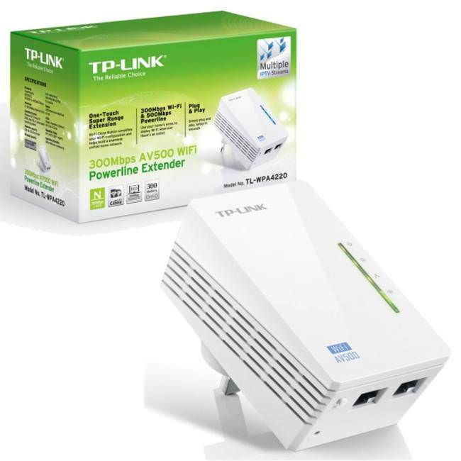 tp link tl wpa4220 300mbps av500 wifi powerline extender. Black Bedroom Furniture Sets. Home Design Ideas