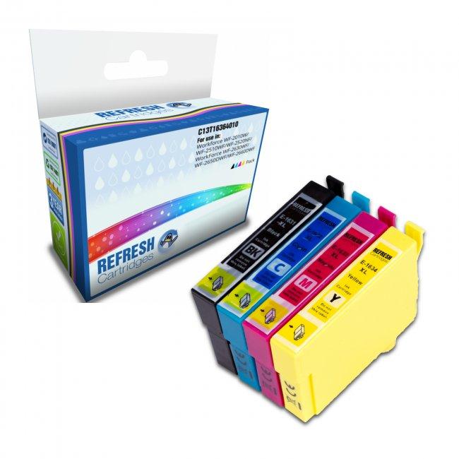 epson t1636 remanufactured inkjet cartridge multipack. Black Bedroom Furniture Sets. Home Design Ideas
